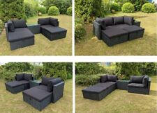 Polyrattan Gartenmöbel Lounge Rattan Gartenset modulare Sitzgruppe Rattanmöbel