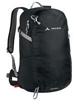 VauDe Expedition Wander Trekking Rucksack Wizard 24+4 L schwarz mit Regenhülle