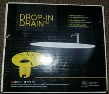 New In Box! Cg air systems Drop-in Drain for Freestanding bathtubs abs kit
