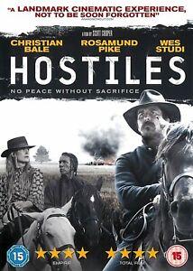 Hostiles - (DVD) - GOOD CONDITION