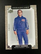 2018-19 Chronology #40 Scotty Bowman Canadiens