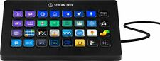 Elgato - Stream Deck XL Wired Keypad with Back Lighting - Black