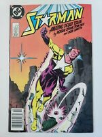 STARMAN #1 (1988) DC COMICS 1ST APPEARANCE OF WILL PAYTON! NEWSSTAND VARIANT!