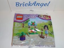 NEW LEGO Friends Emma Mini Figure Flower Stand 30112 Factory Sealed Polybag 2014