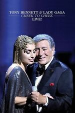 TONY & LADY GAGA BENNETT - CHEEK TO CHEEK LIVE!  DVD NEU