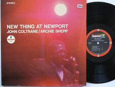 JOHN COLTRANE AND ARCHIE SHEPP LP, NEW THING AT NEWPORT (IMPULSE US Issue EX/EX)