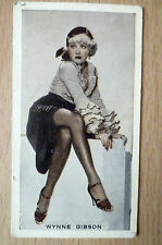 Godfrey Phillips Cigarette Cards- Stage & Cinema Beauties, No.4- WYNNE GIBSON