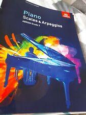 ABRSM grade 3 piano scales and arpeggios