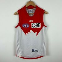 Sydney Swams AFL Jersey Mens Size Medium Slim Fit Sleeveless ISC