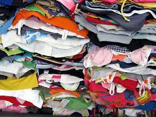 lotto 10 kg abbigliamento usato uomo donna e bambini stock blocco rivendi 1^ Sce