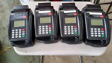 Lot of 4 Eclipse Quartet TeleCheck Credit Card Check Reader Terminal