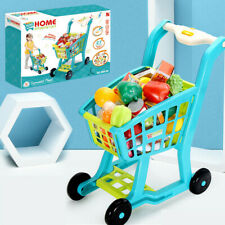 Children's Shopping Cart Toy Groceries, Pretending Toy Toys, Groceries US Stock