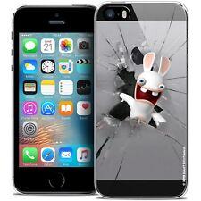 Coque Lapins Crétins™ Pour iPhone 5/5s/SE Souple Design Breaking Glass