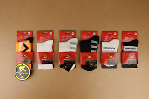 6 Pair Variety Pack of Northwave Cycling Socks size 36-39 4-10 Women 2-8 Men US