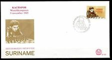 Suriname - 1985 Kasparov chess champion - Mi. 1162 Clean unaddressed FDC!