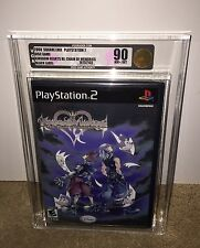 Kingdom Hearts Re: Chain of Memories VGA 90 GOLD! MINT BLACK LABEL! Sony PS2