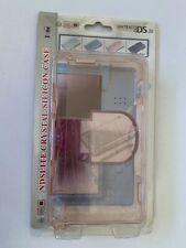 Nintendo DS Lite Hard Crystal Case Cover Pink Skin Shell NDSL Protection