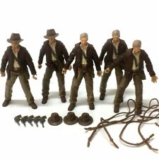 5pcs INDIANA JONES RAIDERS OF LOST ARK + Accessories Guns Strings & Hats Toys