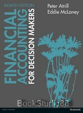 NEW 3 Days AUS Financial Accounting For Decision Makers 8E McLaney Atrill 8th Ed