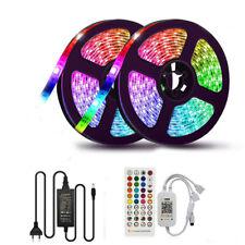 5M 10M 15M 20m LED Strip Sync To Music Bluetooth Smart Phone Control TAPE Lights