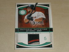 2003 Fleer Patchworks National Patchtime Used Patch #JB2 Jeff Bagwell 044/100