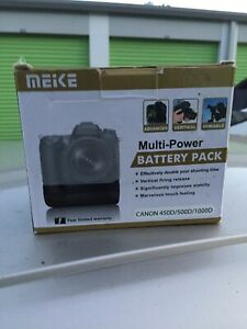 Mieke Battery Grip for Rebel XSi, XS, T1i. New Opened Box Item
