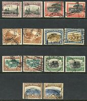 SOUTH AFRICA  SCOTT#26a,b/32a,b USED