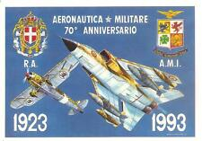 1923 - 1993  70° ANNIVERSARIO AERONAUTICA MILITARE - Disegno di ALDO BROVARONE