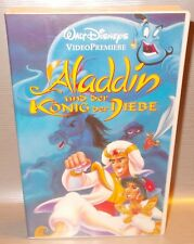 VHS Walt Disney Videopremiere Aladdin und der König der Diebe Originalkassette