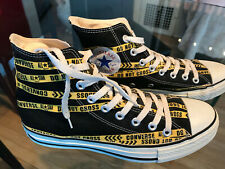 5665e28f0dcf Converse All Star Chuck Taylor Japanese exclusive DO NOT CROSS police M 7  shoes