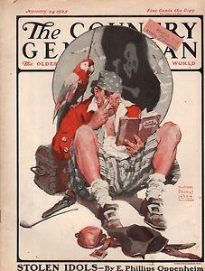1925 Country Gentleman January 24 - E Phillips Oppenheim; Max Brand; Pirate;