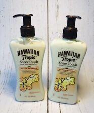(2)Hawaiian Tropic Sheer Touch After Sun Moisturizer Ultra Radiance Island Mango