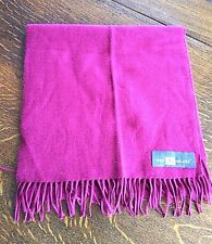 Scarf Cable Knit Rectangle Shawl Solid Red Wrap Winter 2 Roads Unisex Warm Soft