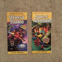 Vintage Universal Studios Florida Islands Of Adventure July 4 2000 Park Guides