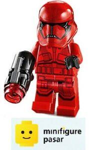 sw1065 Lego Star Wars 75256 75266 75279 Episode 9 - Sith Trooper Minifigure New