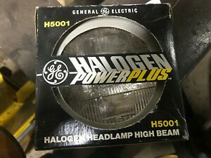 H5001 halogen power plus high beam general electric nos
