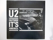 U2, Outside It's America, NEW* Ltd edition PICTURE DISC vinyl LP