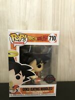 Animation Dragon Ball Z Goku Eating Noodle  Vinyl Funko Pop