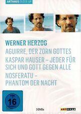 DVD-BOX NEU/OVP - Werner Herzog - ARTHAUS Close-Up - 3 Spielfilme