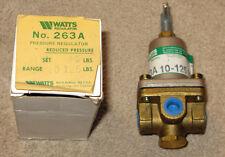 "Watts Pressure Reg. Valve 1/4 "" # 263 A NEW"