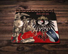 Mauspad Germania Kaiser Gott mit uns Mousepad God with us Emperor Eagle