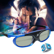 Active 3D Glasses for BenQ Optoma Acer DLP-Link Projector 3D Movie USB Charging