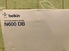 Belkin N600 DB 300 Mbps 4-Port 10/100 Wireless N Router (F9K1102)