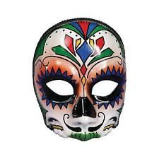 Adult Day of The Dead Mexico Festival Male Face Mask Costume Fm73640