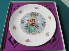 """Royal Doulton England Valentines Day 1980 Collector Plate Nib, 8 1/2"""""""