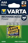 Varta Tecxus Micro AAA Mignon AA Akkus wiederaufladbare Batterien bis 2600mAh