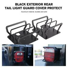 Tail Light Guards Cover Rear Lamps Trim Cover for Jeep Wrangler TJ YJ 1987-2006