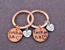 I Still Do Lucky Penny Keychain I love You Couples gift Custom Anniversary Gift