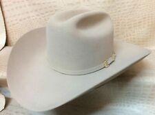 Stetson Palacio II Silverbelly 6X Beaver Fur Felt Western Rodeo Cowboy Hat