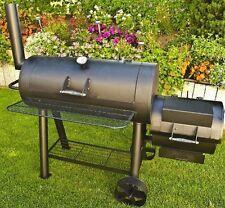 El Fuego®  Grill Holzkohlegrill Smoker BBQ Modell Huyana schwarz AY 306